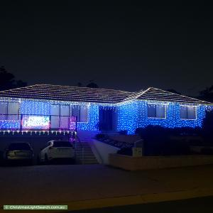 Christmas Light display at 14 Merriman Crescent, MacArthur