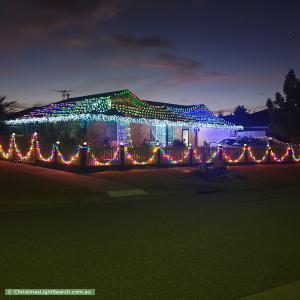 Christmas Light display at 12 Storey Drive, Pakenham