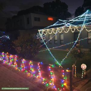 Christmas Light display at 9 Moriane Avenue, Panorama