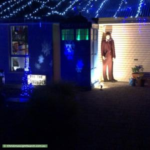 Christmas Light display at 3 Tilly Street, Mount Barker