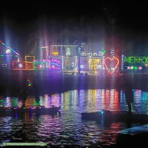 Christmas Light display at  Gladesville Boulevard, Patterson Lakes