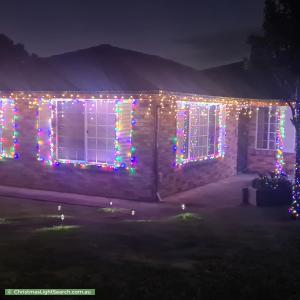 Christmas Light display at 30 Sherridon Crescent, Quakers Hill