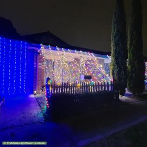 Christmas Light display at 2C Malabar Road, Blackburn
