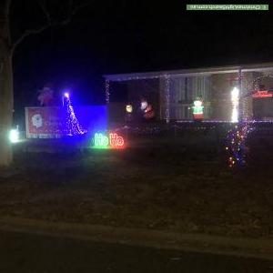 Christmas Light display at 7 Struan Avenue, Endeavour Hills