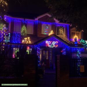 Christmas Light display at 24A Prospect Hill Road, Camberwell