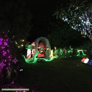 Christmas Light display at 12 Anita Street, Yeronga