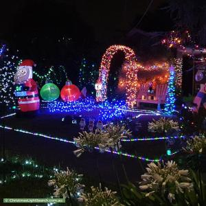 Christmas Light display at 50 Torresdale Drive, Boronia