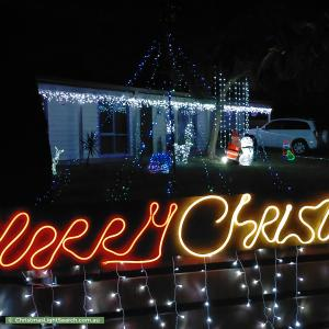Christmas Light display at 498 Waterfall Gully Road, Rosebud