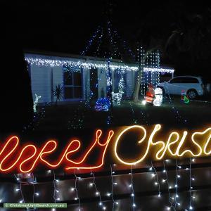 Christmas Light display at 498 Waterfall Gully Road, Rosebud
