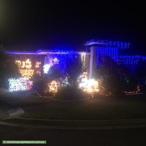 Christmas Light display at 22 Appaloosa Grove, Clyde North