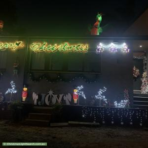 Christmas Light display at 138 Reserve Road, Beaumaris