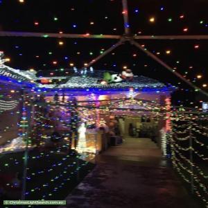 Christmas Light display at  Wirralie Avenue, Baulkham Hills