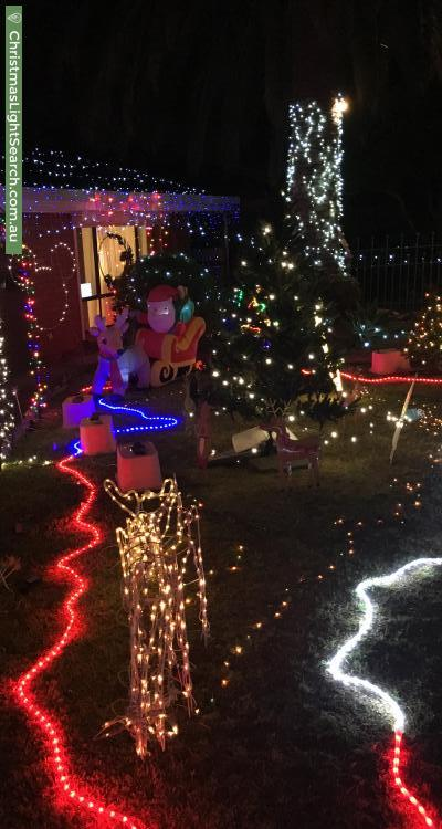 Christmas Light display at 66 Tolley Road, Saint Agnes