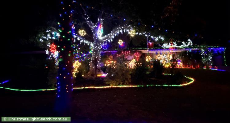 Christmas Light display at 27 Hoylake Crescent, Fairview Park