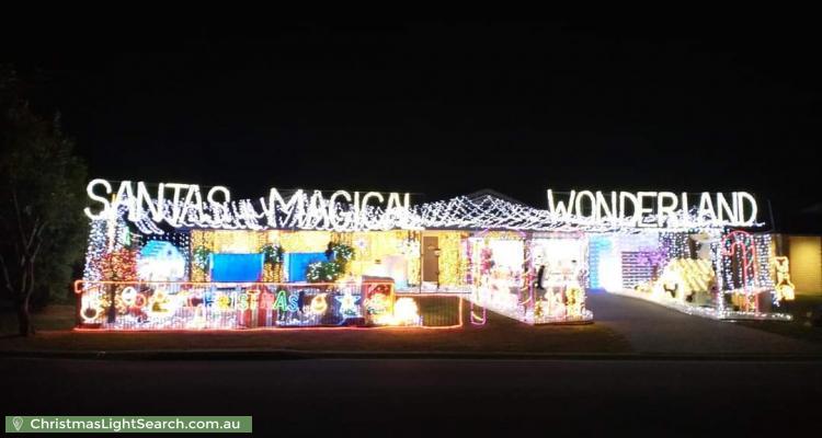 Christmas Light display at 30 Lennon Drive, Windaroo