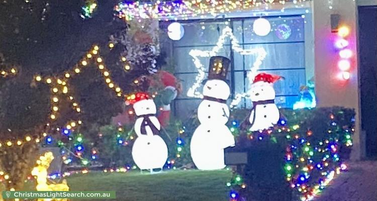 Christmas Light display at 257 Shreeve Road, Canning Vale