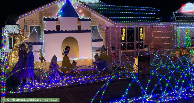 Christmas Light display at 55 Chelmsford Street, Craigmore