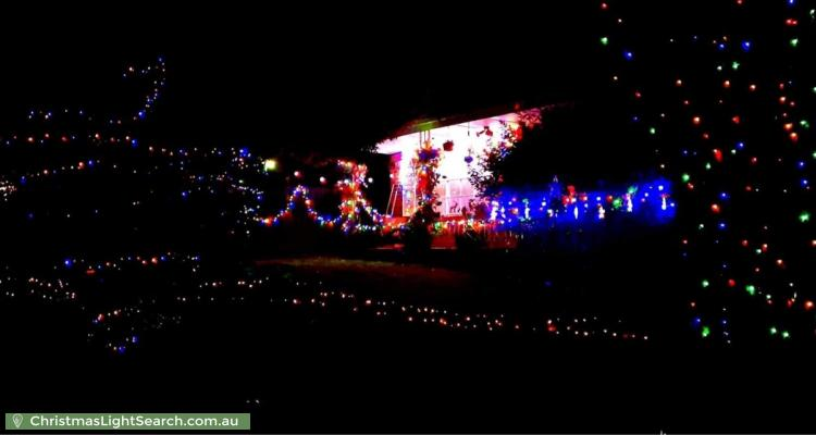 Christmas Light display at 69 Hawthory Road, Mooroolbark