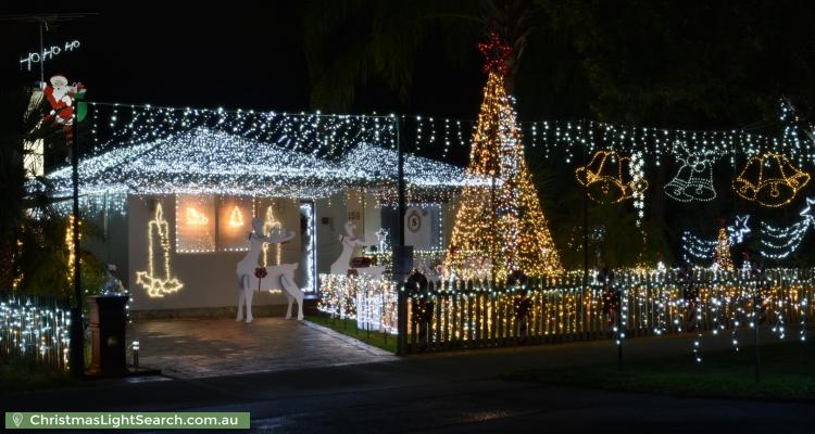 Christmas Light display at 159 Williamson Avenue, Cloverdale