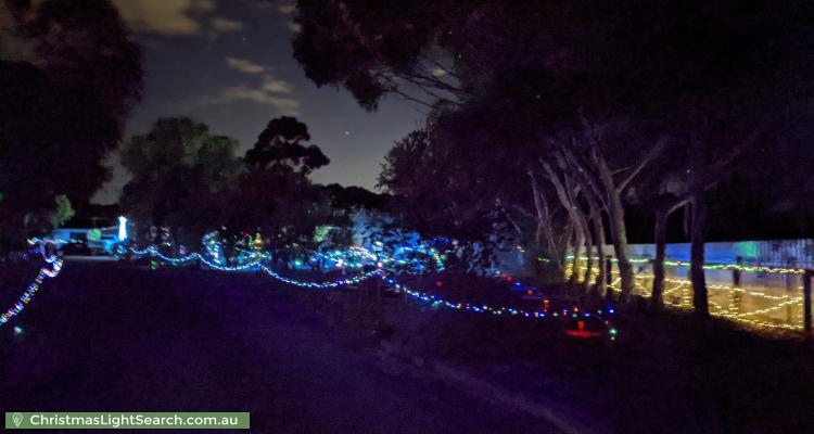 Christmas Light display at 7 Humzy Court, Lewiston
