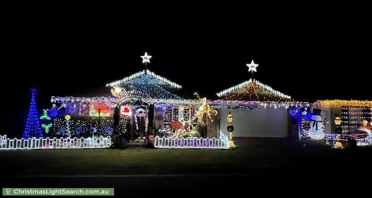 Christmas Light display at  Wintergreen Close, Bracken Ridge