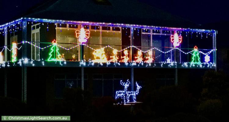 Christmas Light display at 275 Esplanade, Aldinga Beach