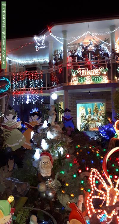 Christmas Light display at 72 Cumberland Road, Greystanes