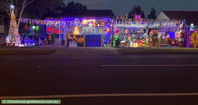 Christmas Light display at 242 Stanley Road, Carina
