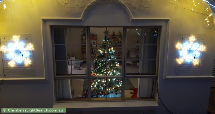 Christmas Light display at 57 Gulfview Road, Blackwood