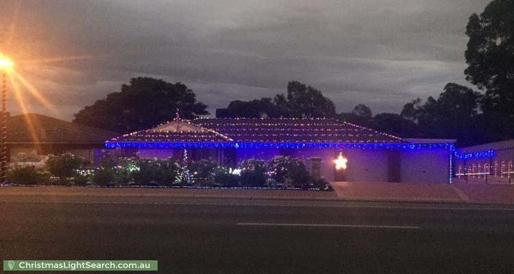Christmas Light display at 56 Somerset Grove, Craigmore