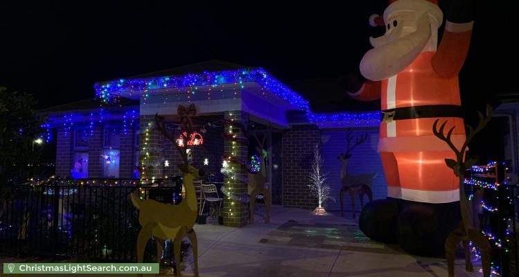Christmas Light display at 153 Douglas Drive, Munno Para