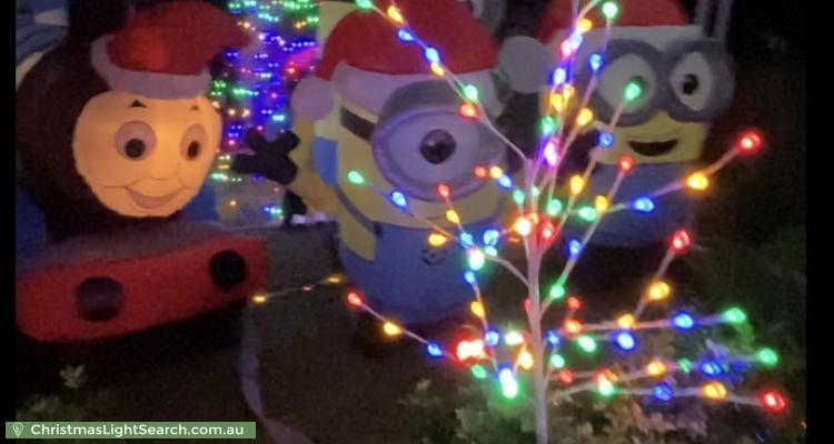 Christmas Light display at 86 Bethany Road, Hoppers Crossing
