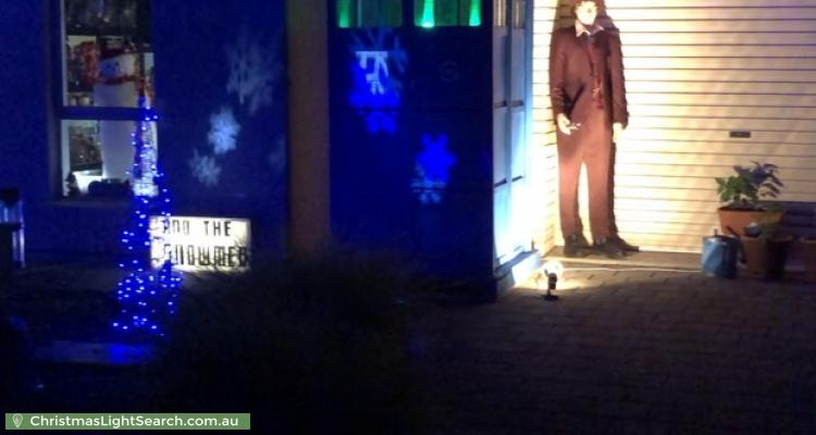 Christmas Light display at 3 Tilly Street, Mount Barker