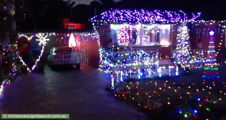Christmas Light display at 123 Pembroke Road, Mooroolbark