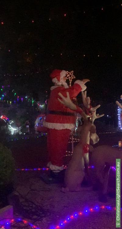 Christmas Light display at 901 South Western Highway, Byford