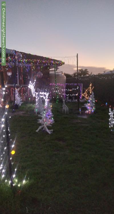 Christmas Light display at 5 Corsloot Street, Regents Park